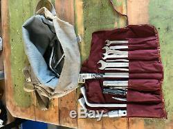 Mercedes Benz Ponton tool bag with MB tools. W180 Pergoda Finnie