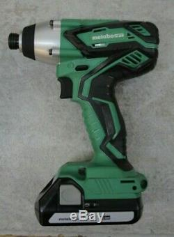 Metabo HPT WH 18DGL 18v 1/4 cordless impact Driver, never used