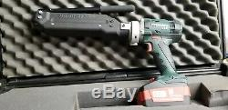 Metabo LTX Band-it Tool With 2 Batteries & Charger