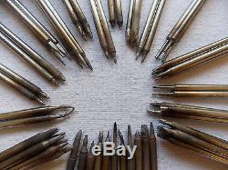 Metcal-Big lot of-used soldering tips tools sttc-037/537/140/837/838-etc-=63 pcs