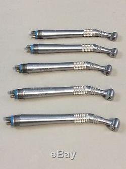 Midwest Quiet Air Standard 4-Hole Dental Handpiece Lot of 5 #11, Dental Tools
