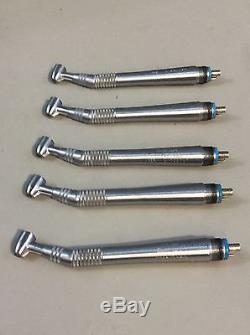 Midwest Quiet Air Standard 4-Hole Dental Handpiece Lot of 5 #12, Dental Tools
