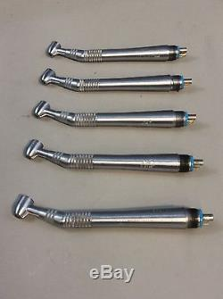 Midwest Quiet Air Standard 4-Hole Dental Handpiece Lot of 5 #13, Dental Tools