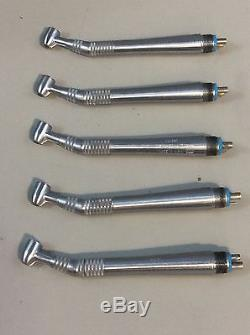 Midwest Quiet Air Standard 4-Hole Dental Handpiece Lot of 5 #15, Dental Tools