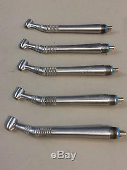 Midwest Quiet Air Standard 4-Hole Dental Handpiece Lot of 5 #17, Dental Tools