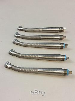 Midwest Tradition Lever Fiber Optic Dental Handpieces Lot of 5 #3, Dental Tools