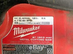 Milwaukee 13 Amp 8 Metal Cutting Circular Saw 6370-20