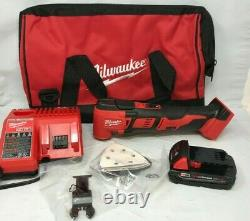 Milwaukee 2626-21CP M18 Oscillating Multi-Tool Kit with Battery, Charger, Bag N