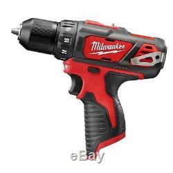 Milwaukee M12 Cordless Drill / Impact Driver Combo Kit Lithium-Ion 12Volt 2-Tool