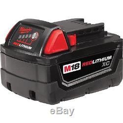 Milwaukee M18 Brushless 5-Tool Combo Set Drill Driver Sawzall Circular Saw Light