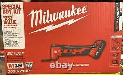 Milwaukee M18 Oscillating Multi Tool Kit 18 Volt Lithium Ion Cordless with One Ah
