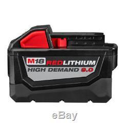 Milwaukee M18 REDLITHIUM HD 18V 9.0 Ah Li-Ion Battery Starter Kit 48-59-1890