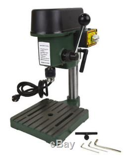 Mini Drill Press Compact Drill Presses Bench Jeweler Hobby 3-Speeds Max 8500 RPM