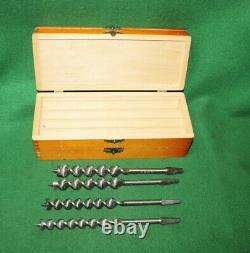 Mint NOS in Box IUnused Complete Set of 13 RUSSELL JENNINGS Auger Bits nv#LK12