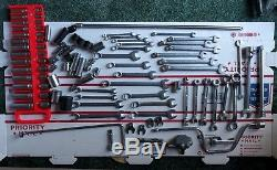 Mixed Lot of 100+ Snap-On Tools, Wrenches, Sockets, SAE, Metric & B. S. Sizes inc