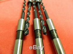 Morse Cutting Tools Taper Shank Drill Bit 15/64 Dia. X 6-1/8 OAL Qty. 5 10015