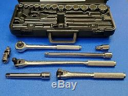 NEW 20 pc KD TOOLS (Made in the USA) 1/2 dr. TOOL SET 1-1/4 thru 7/16 FREE SHIPN