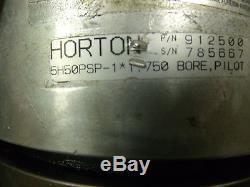 NEW Horton pilot mount single position tooth Clutch 5H50PSP-1 912500 1.750 bore