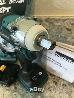 NIB MAKITA 18V XWT11Z Brushless Cordless 1/2 Impact Wrench + MAKITA Battery
