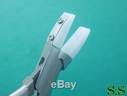 NYLON Jaw Pliers Flat NoseScratch Free Jewelry Work 40