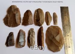 Neanderthal Stone Age Paleolithic Mousterian Tools Israel