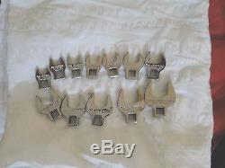 New Armstrong Tools 12 Pc. 3/8 Drive Metric Crowfoot Wrench Set 44-370 10mm