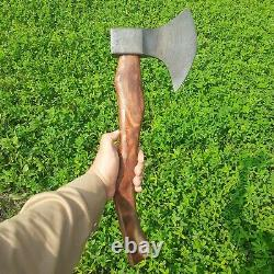 New#Custom Made #Hatched #Tomahawk #Viking Axe Fully Functional WithLeather Cover