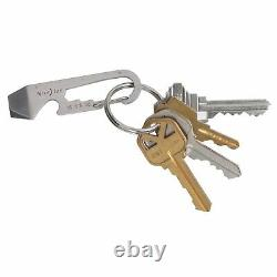 Nite Ize DoohicKey Key Tool Stainless Steel Keychain Multi-Tool withClip (24-Pack)