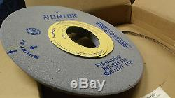 Norton Surface grinding wheel 20 x 1-1/2 x 6 arbor hole 53A80-K6V127 New