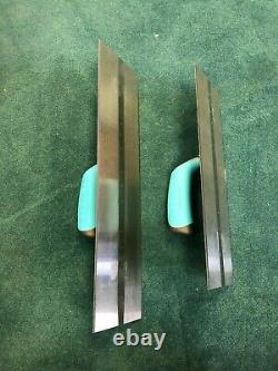 OX Tools Pro Carbon Steel Plaster Trowel 2 Piece Set