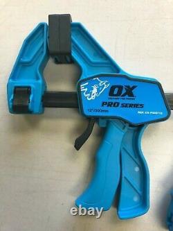 OX Tools Pro Standard Bar Clamp 2 Piece Set (6 & 12)