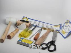 Osborne B-7 Furniture Upholstery Tools Kit 12pc. Pro Boat Auto B7