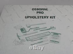 Osborne B-7 Furniture Upholstery Tools Kit 12pc. Pro Boat Auto B7