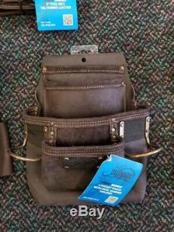 Ox Tools Oil Tanned Leather Tool Belt Bundle & 25' Tape Measure