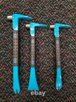Ox Tools Pro 12 & 10 Claw Bars with 10 Moulding Bar