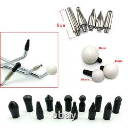 PDR-Paintless Dent Repair Rod Kit, Dent Removal Tools, Pullout Tools, Push Hooks