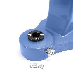 Pack hand press machine + 6 tools dies for single double cap rivets set kit S023