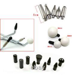 Paintless Dent Repair Hail Removal Tool, Car Repair Tools Push Rods Spring Steel
