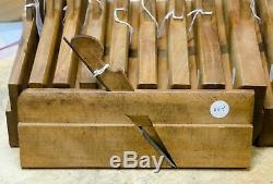 Partial Half Set (11) of G. Burnham odd number Round and Hollow Molding Planes