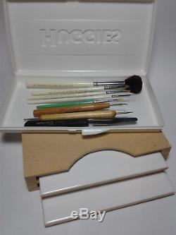 Porcelain Doll Making Kit with paints, brushes and tools