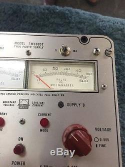 Power Design Inc. TW5005T Twin Power Supply Meter