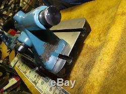 Precision Bench Center spring loaded Tailstock 27-1/2 x 6-3/4 Table 2 T-Slots