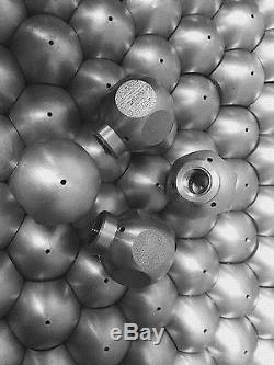 QTY3 Nozzles BALL JET NOZZLE 10 GPM 4000 PSI 1F/3R Jetter High Pressure 1/8 NPT