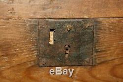 RARE FIND. Late 19th Century Hand Crafted Carpenters Tool Box Inv#BL416