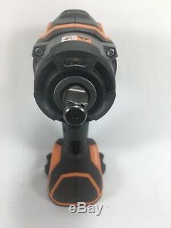 RIDGID R86011B Impact Wrench Brushless GEN5X 18V 4-Mode Cordless+Battery/Charger