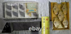RIGHT HAND INDEXABLE LATHE TOOL HOLDER 1 X 1-1/4 X 6 and 15 New WNMG 431, 432