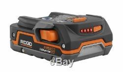 Ridgid 18V Hyper Lithium Ion battery Rechargeable Li-ion Battery AA