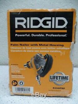 Ridgid R350RHD 22 Degree 2-31/2 Round Head Pneumatic Framing & Palm Nailgun