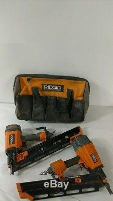 Ridgid Reconditioned Nailers (LOT of 2) NON-Working R350RHE & R350RHA