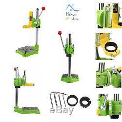 Rotary Work Station Craft Drill Press Flex Stand Shaft Tabletop Fixture Jig Hand